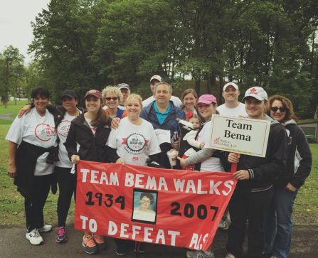 Quick Team Bema picture before the Syracuse Walk!