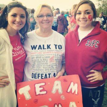 Syracuse Walk with Mom & Christina!