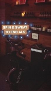 Spin & Sweat to End ALS!
