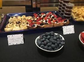 Cranberry Walnut Pinwheels & Very Berry Bruschetta