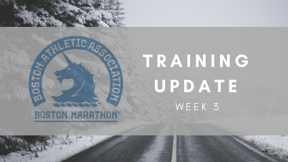 Training-Update-Week3
